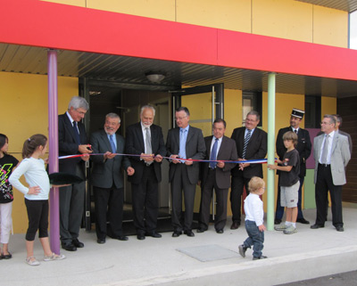 inauguration p�riscolaire puyravault